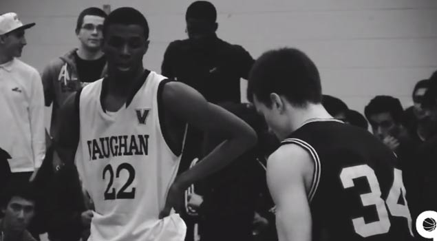 "Andrew Wiggins in 10th Grade vs Kevin Pangos ""Regional Rivals"" Video"