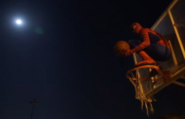 Ballislife | Ball Up Streetball spiderman