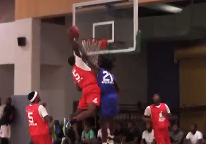 Chosen League Final 4 Highlights: Anthony Downing ankle breaker & Sean Lloyd poster