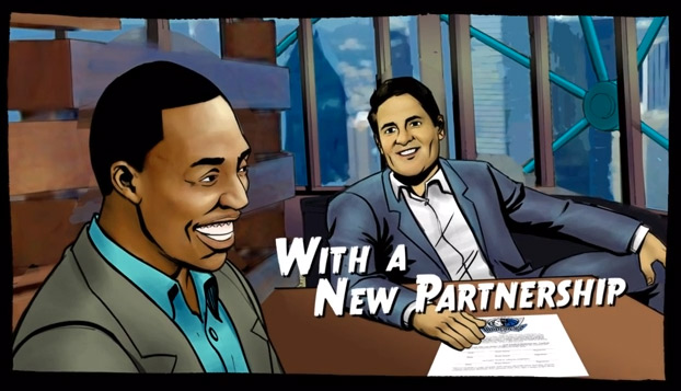 Mark Cuban shares the Mavs animated pitch to Dwight Howard | Shark Tank Style