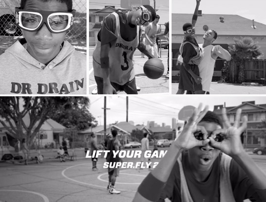 "Blake Griffin & Dr Drain: New Jordan Brand commercial ""Lift Your Game"" for Super Fly 2 Sneakers"