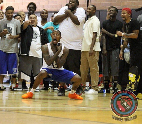 Image of the Day: Don't Choke at the Drew League