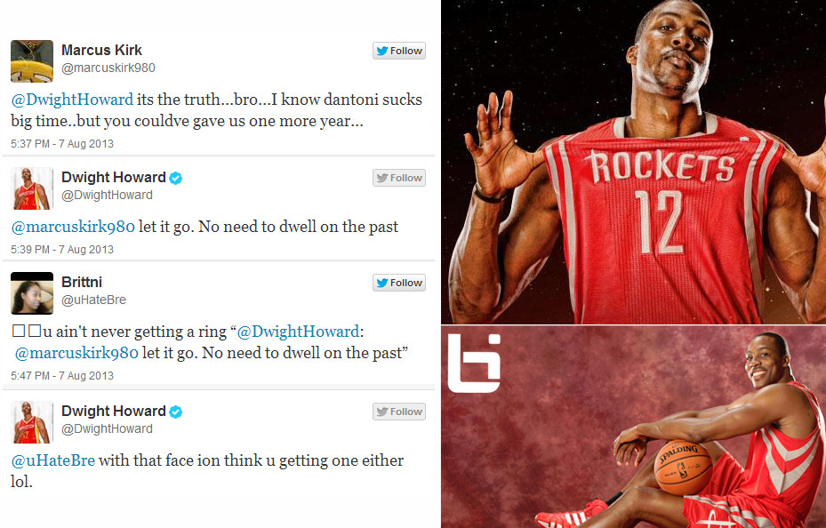 Dwight Howard Finally Funny! Goes off on girl on Twitter