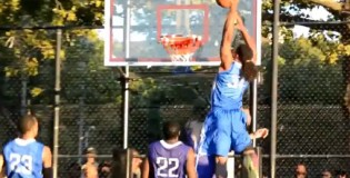 Kwame Alexander nasty 1 hand alley-oop dunk at Nike Tournament of Champions