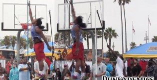 "Kwame ""Space Jam"" Alexander reaches over 12'6 at VBL To The Top Contest"