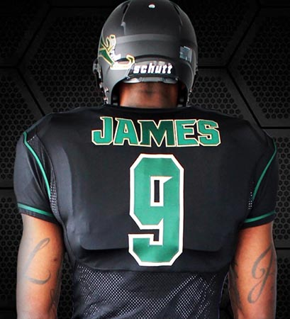 LeBron James Unveils New Nike Football Uniforms for his high school alma- mater 6bd41e01d