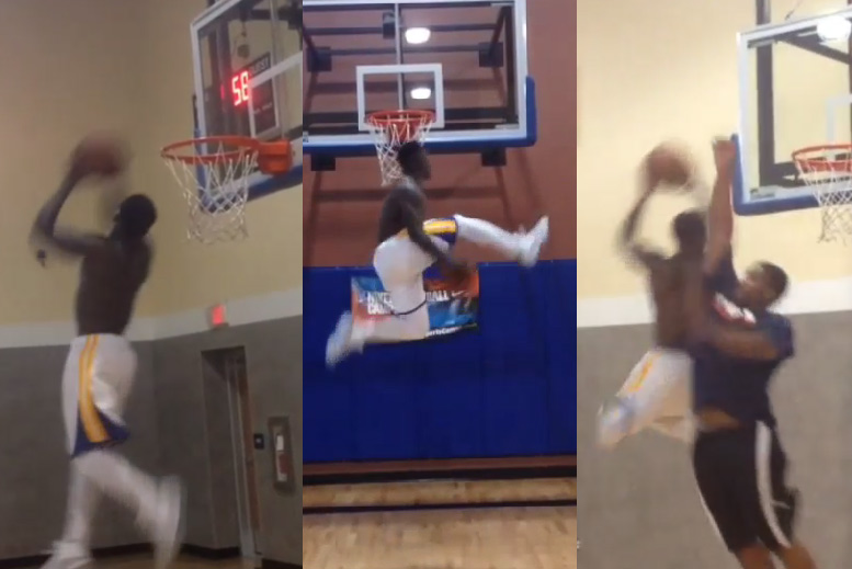 Ballislife | Nate Robinson Dunks on IG