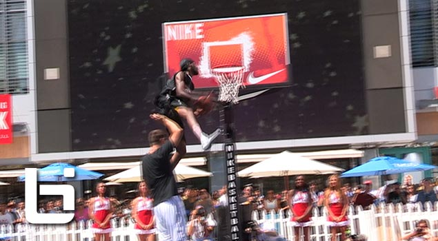 Werm Wins 2013 Nike 3on3 Dunk Contest! 360 Cradle Dunk & More!