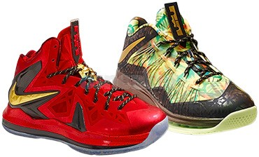 Lebron X Championship Pack | Lebron X Mid & Low