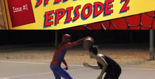Spiderman Basketball Part 2 starring the Professor