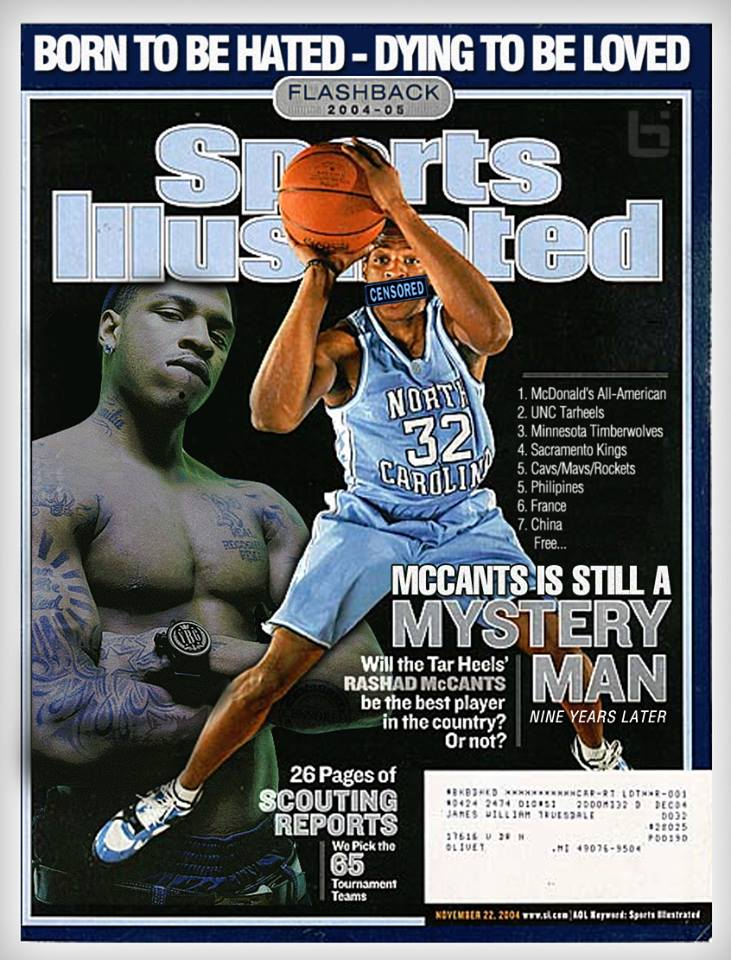 "Rashad McCants Unchained: 1-on-1 Uncensored Interview with the ""Mystery Man"""