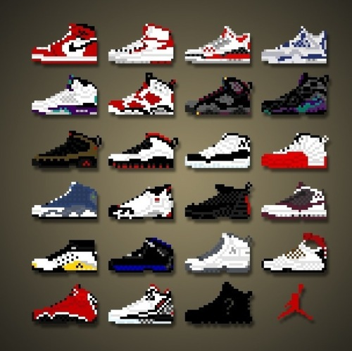 retro jordan collection