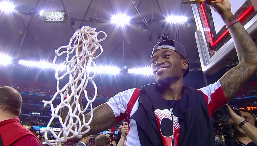 Ballislife | Kevin Ware Cutting Nets Down