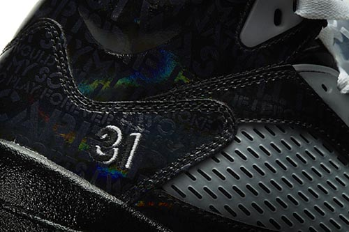 Ballislife | Air Jordan Doernbecher 5 Detail: Number 31