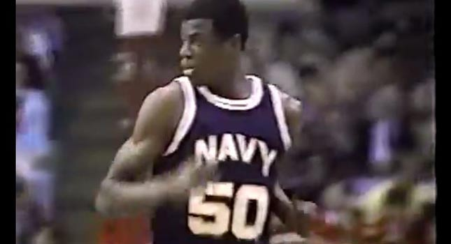 David Robinson & Len Bias Go At Each Other In College
