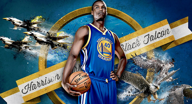 Harrison Barnes wants to be in the 2014 NBA Dunk Contest