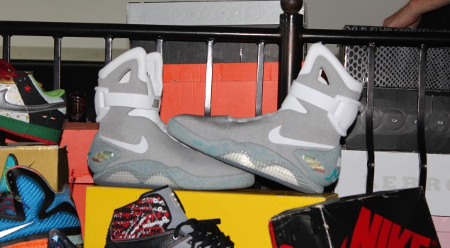 DXC LA | Limited Edition Nike Air Mag – Back to the Future Shoes