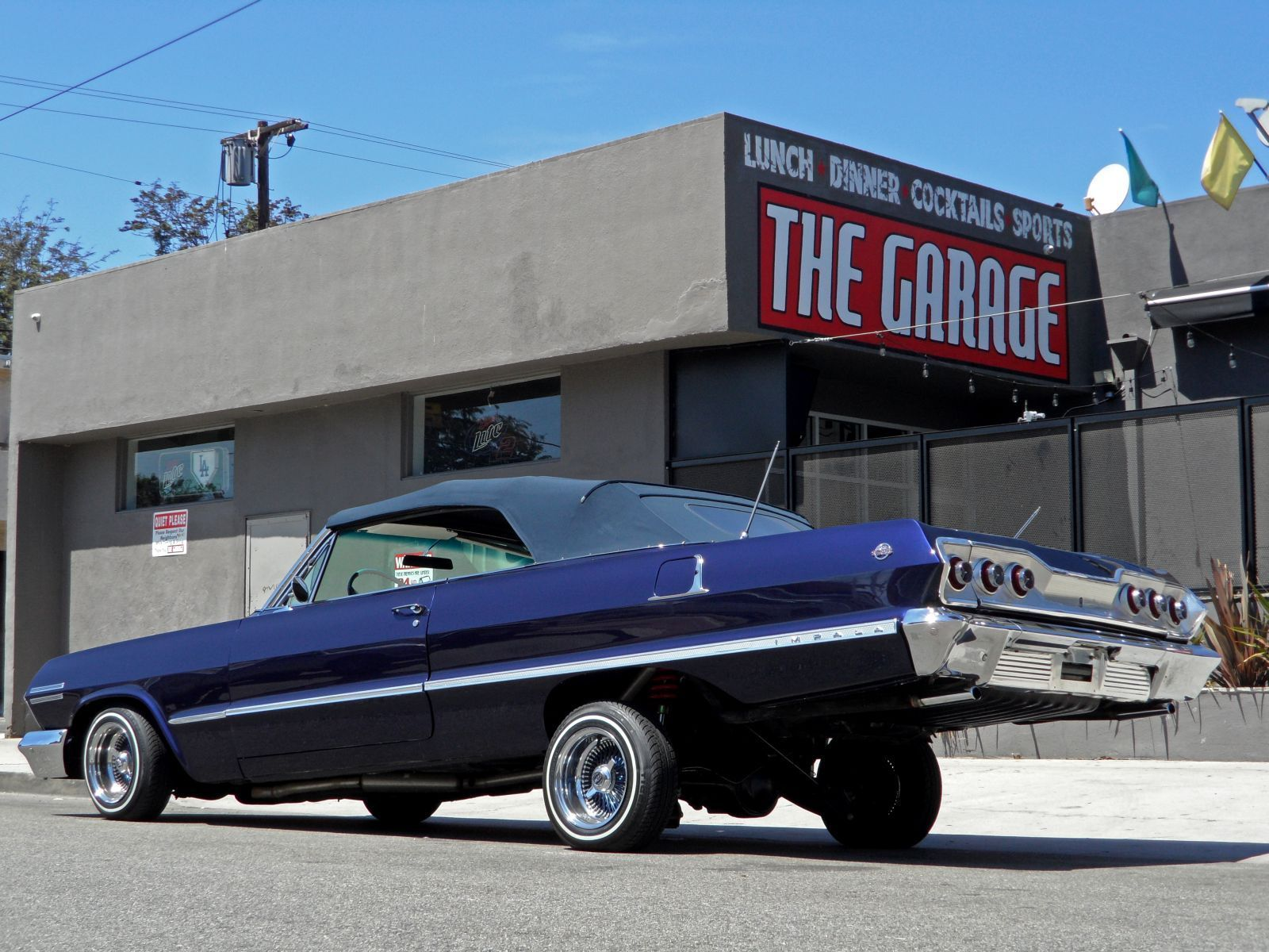Kobe s 1963 Chevy Lowrider for sale on Ebay for $100k the top