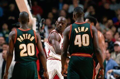 Ballislife | Gary Payton and Shawn Kemp vs Jordan 1996 Finals