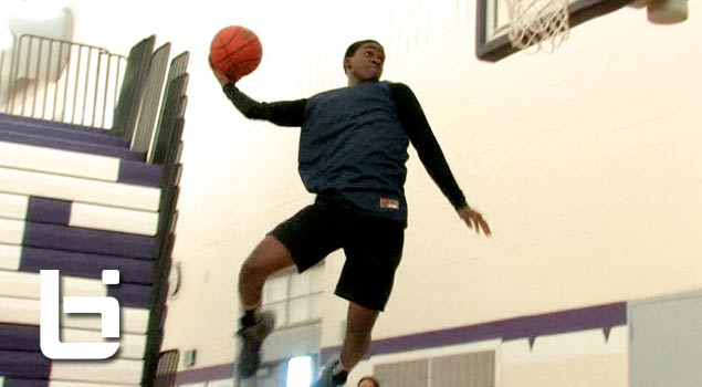 Jawan Stepney & Phil Winston Dunk Off at Tony Wroten Camp
