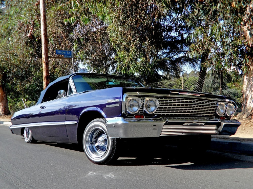 West Coast Customs Cars For Sale >> Kobe's 1963 Chevy Lowrider for sale on Ebay for $100k + the top crazy Kobe items on Ebay ...