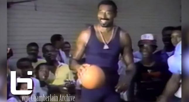 Wilt Chamberlain Looking Like He's In His Prime at Age 50