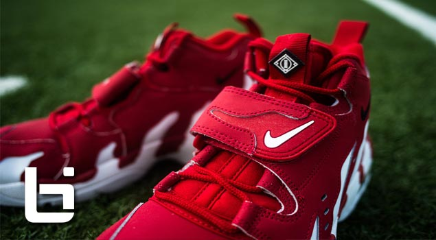 Nike 95 Deion Sanders Air Max-Red/White