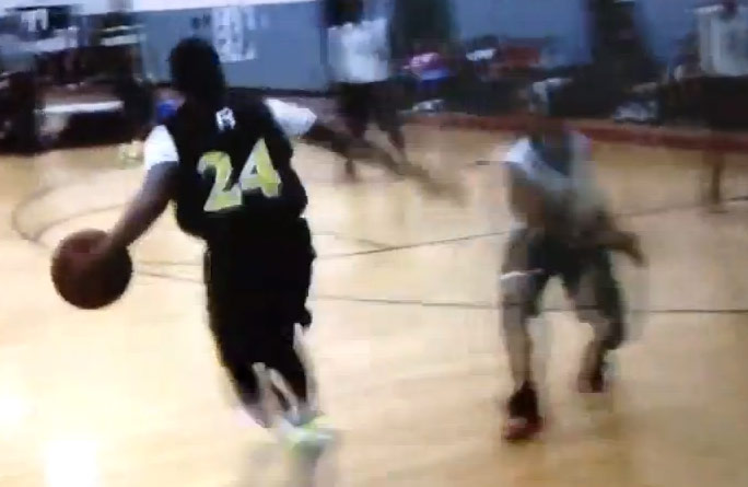 Crossover of the Day: Class of 2015 Brandon Key Destroys Defender With Shammgod Move