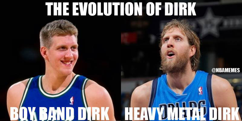 NBA Memes: The Evolution of Dirk