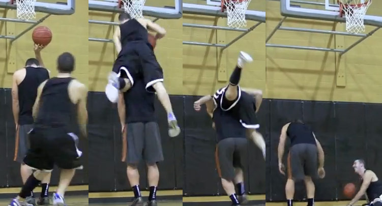 Dunk Fails: White Men Really Can't Jump