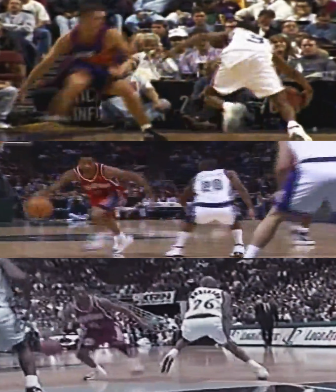 5 minutes of Allen Iverson's Crossover Dribble