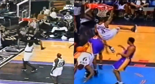 Allen Iverson's Top 10 Plays That Didn't Count (Nasty tip dunks)