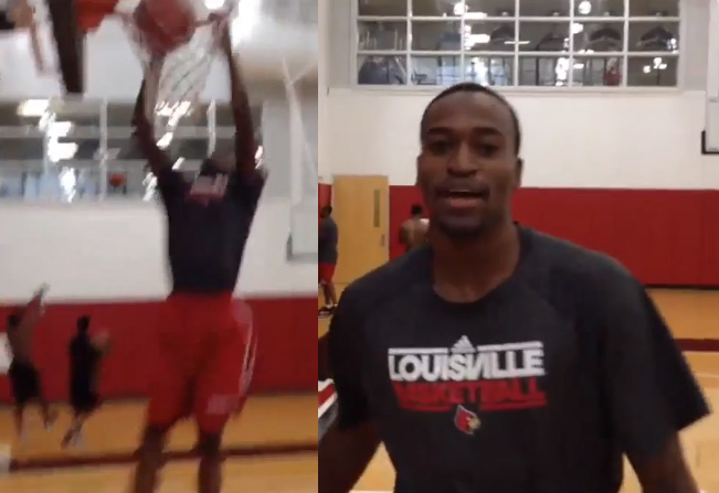 Kevin Ware Dunking 6 Months After Injury | Ware Timeline