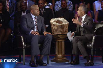 Magic Johnson interview on Politics Nation with Rev Al Sharpton