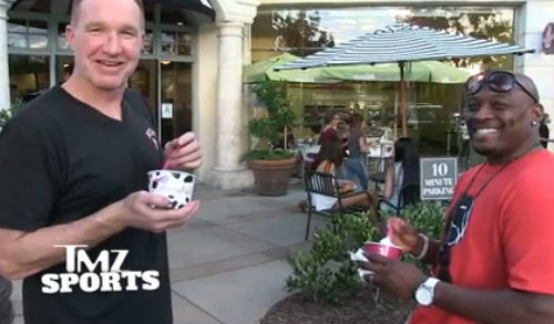 Ballislife | Chris Mullin & Mitch Richmond Frozen Yogurt