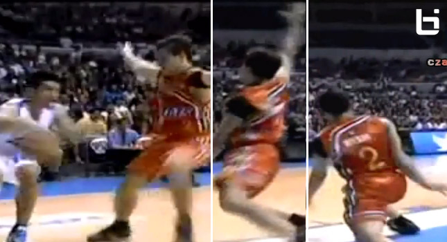 James Yap aka Man of a Million Moves with an ankle breaking crossover on John Wilson | PBA