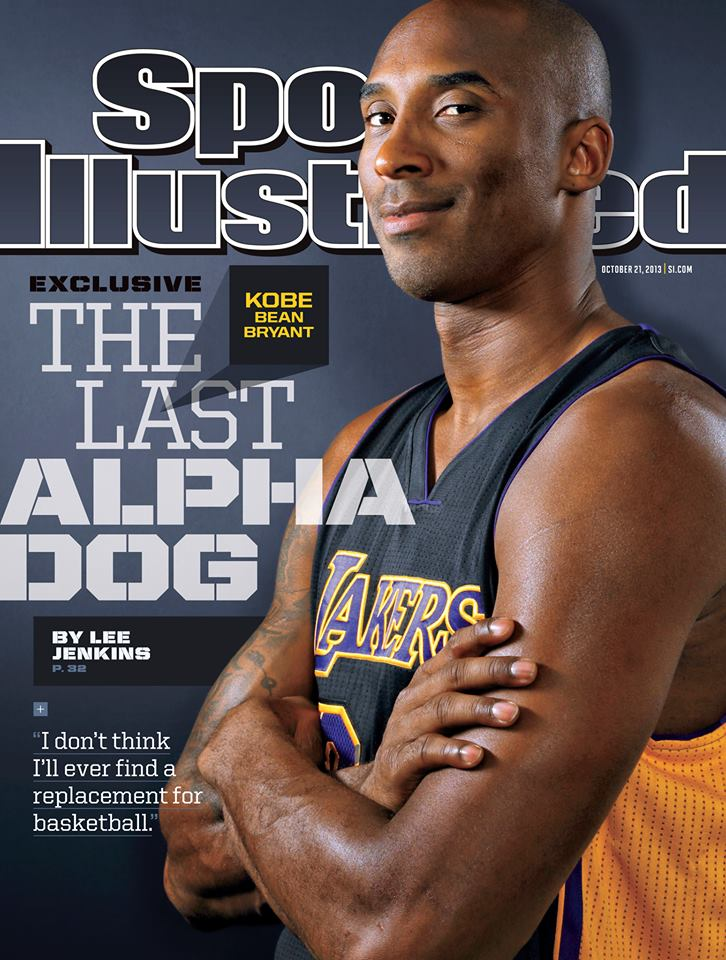 13bdfefecb8d Kobe Bryant on the Cover of New Sports Illustrated Issue