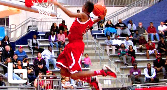 Terrance Ferguson Top Shooting Guard of 2016? NASTY BOUNCE!