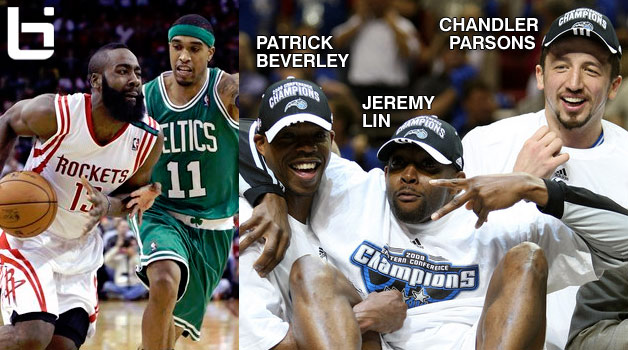Dwight Howard compares his Rocket teammates to past Magic teammates. Harden = Courtney Lee?