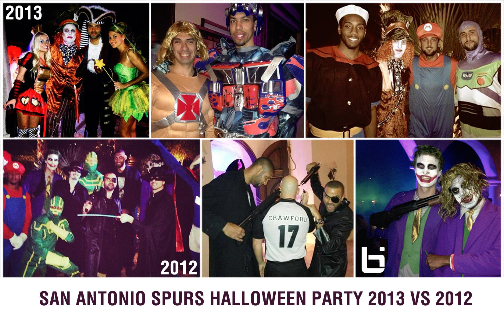 San Antonio Spurs Halloween Party: They went from ref killers to ...