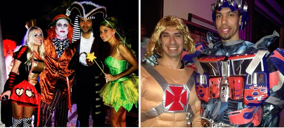 San Antonio Spurs Halloween Party: They went from ref killers to kiddie characters