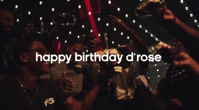 57c1073b8d5a Adidas is celebrating Derrick Rose s Birthday by giving out 25 autographed D  Rose...(Read more)