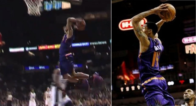 Dunk of the Day: Gerald Green scores 19 & throws down a 2 hand slam vs the Spurs