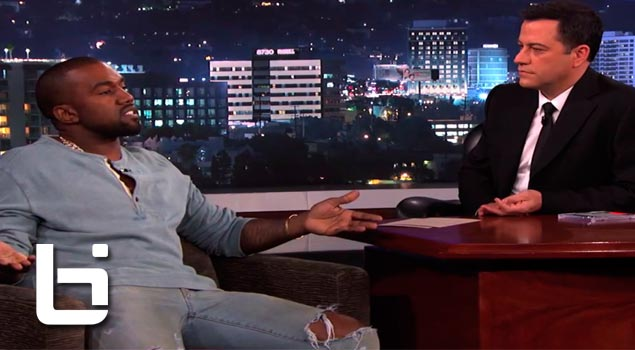 Kanye West Live on Jimmy Kimmel to settle their Beef