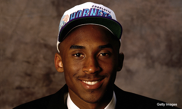 What Kobe Bryant Remembers About Draft Day: A Phone Call & A Pimple