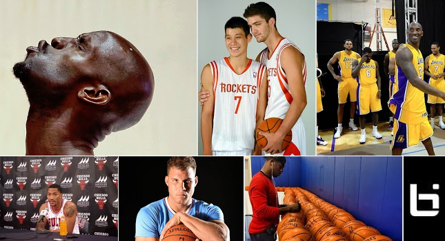 The Best 2013 NBA Media Day Photos
