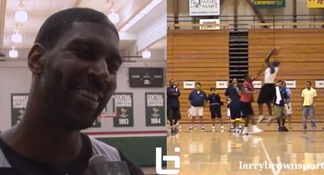 OJ Mayo responds to Michael Jordan's story + footage of MJ schooling OJ at his camp