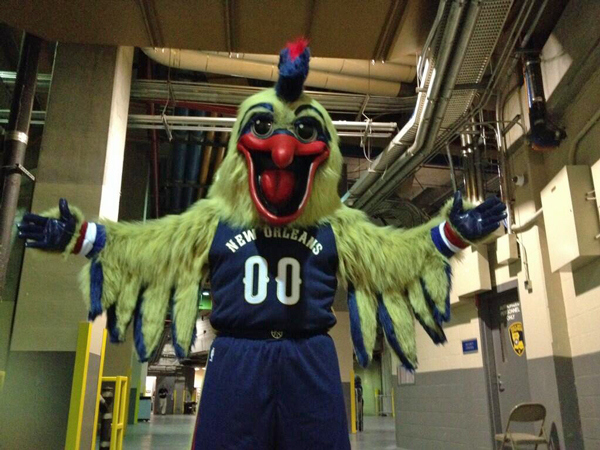 "Happy Halloween – Meet the new Pelicans Mascot ""Pierre"""