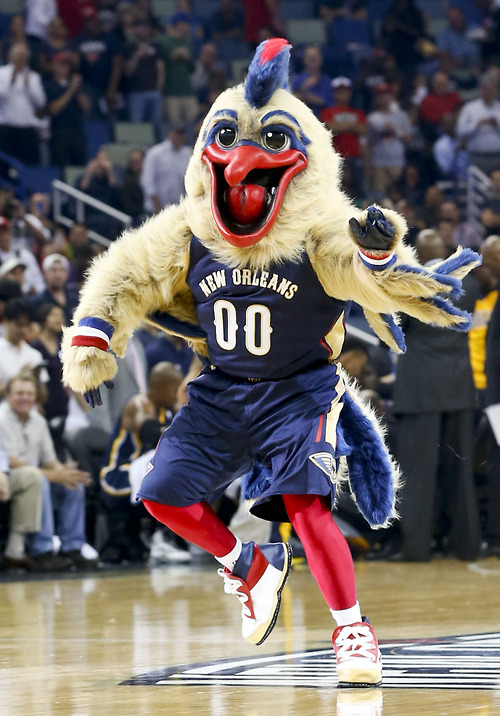USP NBA: INDIANA PACERS AT NEW ORLEANS PELICANS S BKN USA LA