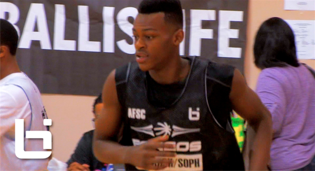 The TOP 9th Grader In The Country? Jarred Vanderbilt Shows Out At Pangos!